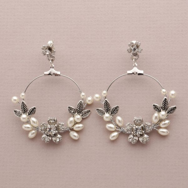 Alyssum Bridal Earrings