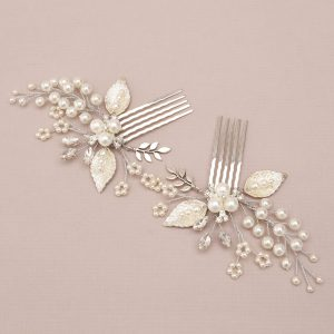 Chamomile Bridal Mini Combs