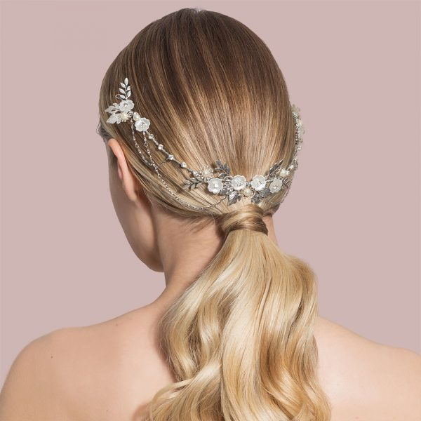 Eden Bridal Hair Drape