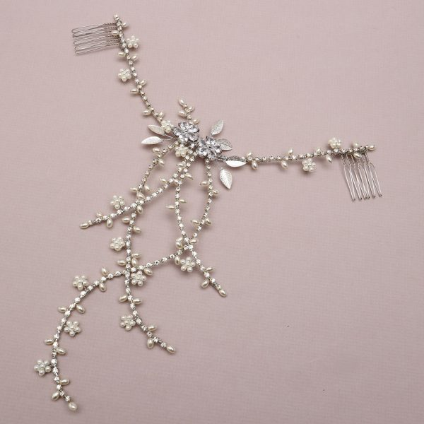 Evensong Bridal Hair Drape