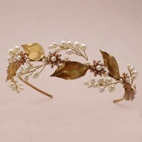 Honeysuckle Bridal Headband