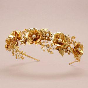 Saffron Bridal Headband