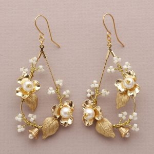 Sage Bridal Earrings