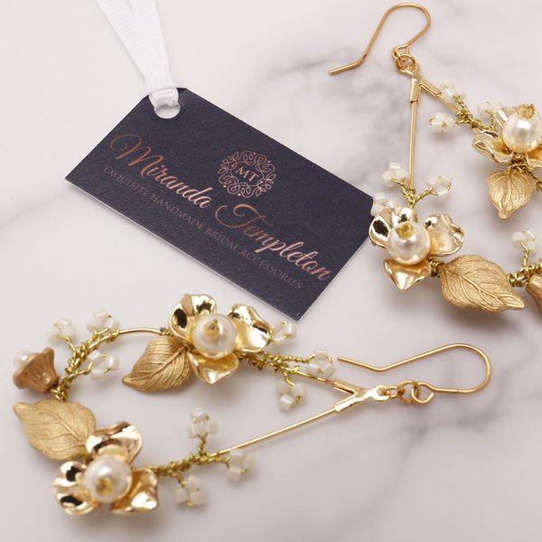 Sage Bridal Earrings