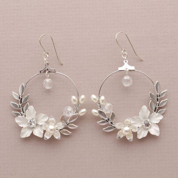 Starflower Bridal Earrings