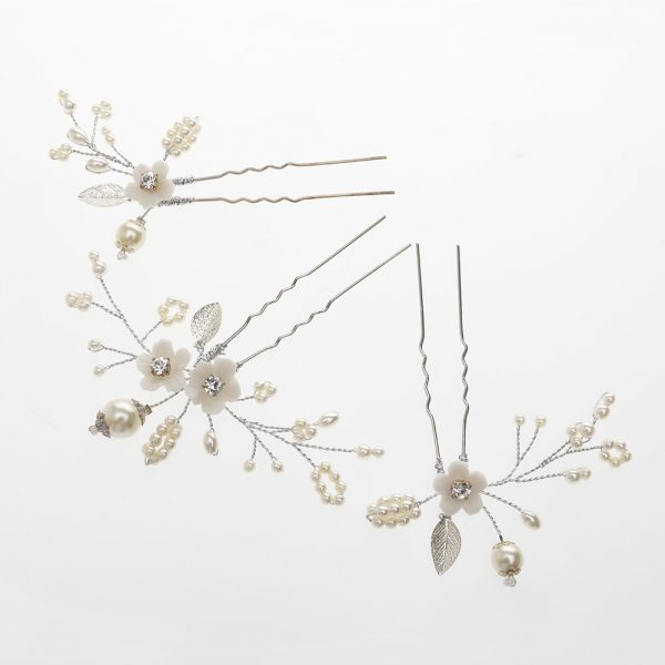 Whimsey Bridal Hair Pins