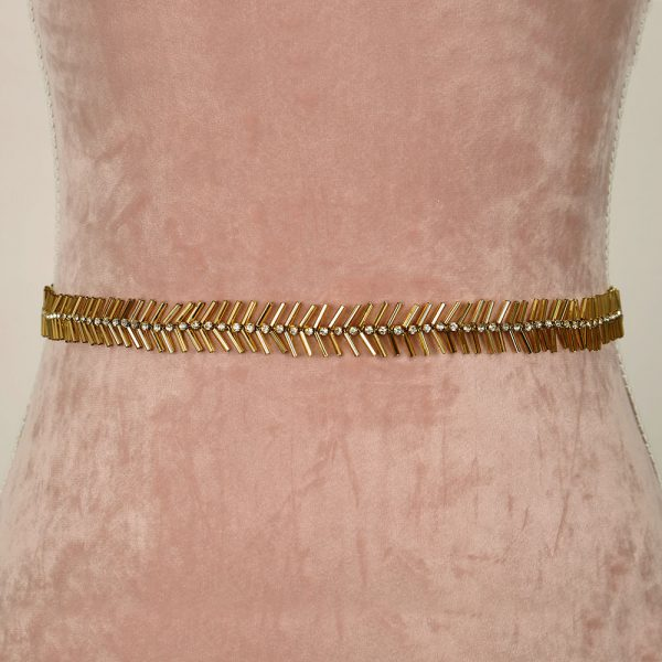 Woodruff Bridal Belt with Ribbon Ties