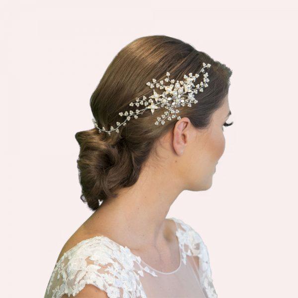 Addison Bridal Hair Vine