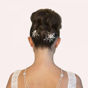 Dandridge Wedding Comb and Pin Set