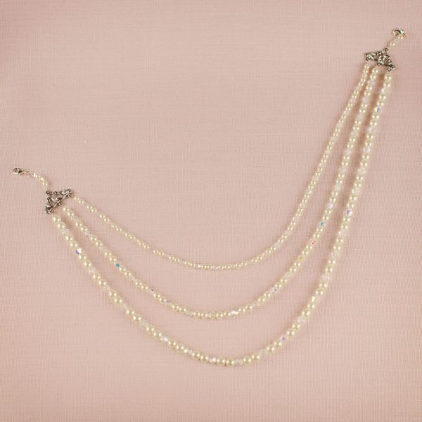 Milbourne Bridal Back Drop Necklace