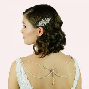 Statham Bridal Back Drop Necklace